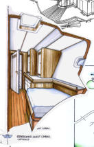 68ft PERFORMANCE SLOOP – IRELAND – GUEST CABIN PROPOSAL